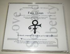 Prince Face Down Promo CD remixes US Promotional Rare