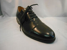 Giorgio Brutini Black Leather Cap Toe Dress Oxfords Shoes Young Men's Sz 6 M