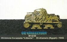 1:72 Carro/Panzer/Tanks/Military M13/40 Littorio - El-Alamein (Egypt) 1942 (26)