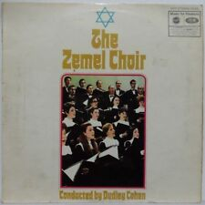 The Zemel Choir - Conducted by Dudley Cohen LP Jewish folk 1969 MFP Hava Nagila