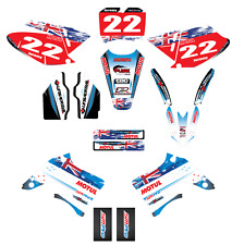 Full  Custom Graphic  Kit -AUSSIE PRIDE - TM 125 - 250 - 300 - 400 - 2004 / 2007