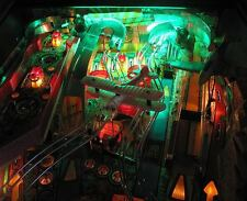Indiana Jones Pinball Playfield Luz Mod