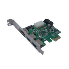 2 Ports USB 3.0  eSATA 3.0  SATA 3.0  20 Pin extender Combo PCI-E Card Adapter