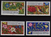 Germany Berlin 1985 Humanitarian Relief Funds SG B706-B709 MNH