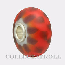 Authentic Troll Bead Red-Purple Chess  Bead TrollBeads   61369