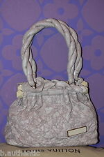Louis Vuitton Monogram Olympe Stratus PM Ecru Beige Lamb Leather Limited $3450+!