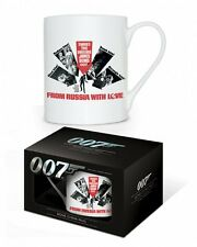 JAMES BOND (FROM RUSSIA WITH LOVE) BONE CHINA MUG IN  BOX MGBC23260