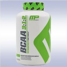 MUSCLEPHARM BCAA 3:1:2 (240 CAPSULES) amino acids leucine isoleucine valine mp