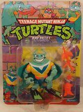 """Teenage Mutant Ninja Turtles TMNT 1991 - Ray Fillet Fish With Blue """"V"""" (MOC)"""