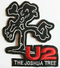 U2 'THE JOSHUA TREE' sew or iron on embroidered patch