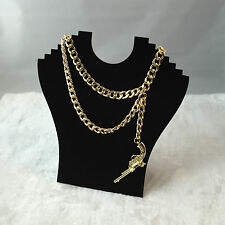New Trendy Rihanna Gun Style Birthday Party Chain Handmade Dress Necklace