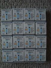 800 One Touch Ultra Blue Diabetic TEST STRIPS  Expire 1/18  NIB Free Shipping