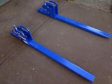 Tractor Bobcat forklift fork front end loader bucket attachment extention 900kg