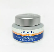 IBD Builder Gel PINK 0.5oz/14g- ideal for tip overlays and sculpting