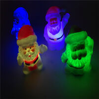 7 Colors Changing Santa Claus LED Night Light Lamp Xmas Home Party Decor Gift