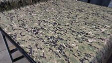 """AOR 2 MILITARY CAMO NY/CO TWILL CAMOUFLAGE FABRIC 64"""" WIDTH USN LOGO AUTHENTIC"""