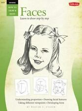 FACES/ Learn To Draw Step By Step (How to Draw & Paint) (Vol 1) by Foster, Walt