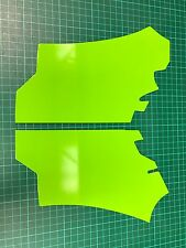 Ford Focus RS MK2 Green Vinyl Wrapped Slam Panel covers £10