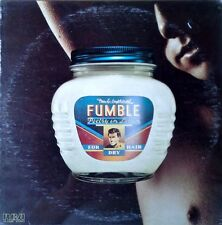 FUMBLE - POETRY IN LOTION  - RCA - 1975 LP - STILL SEALED