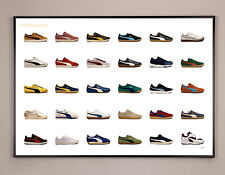 PUMA LIMITED EDITION POSTER PACK, DELPHIN, CLYDE, TE-KU, GOLD FIT, SUEDE