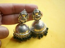 AWESOME SILVER PLATED LORD GANESHA SHAPED EARRING FOR GOSSIP GIRLS,,NEW