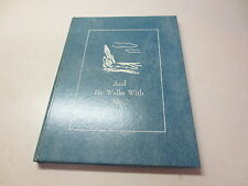 And He Walks With Me C.R. Gibson Company hardcover by Robert J. Church