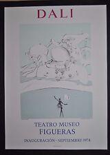 Salvador Dali Expulsion Teatro Museo Figueras 1974 Mourlot Paris Surrealismus