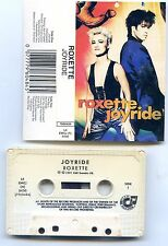 "ROXETTE ""JOYRIDE"" COLLECTOR K7 MC TAPE CD  MADE IN SOUTH AFRICA !! +++  RARE ++"