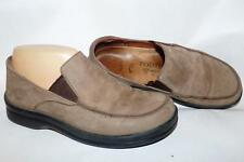 Footprints Birkenstock Brown Leather Loafers 245 EU 38-US Womens 7-7.5M