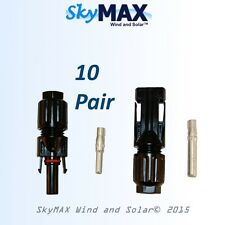 10 pairs MC4 connectors  for solar panels pv photovoltaic