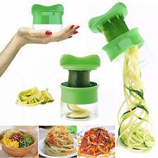 Spiral Vegetable Fruit Slicer Cutter Grater Twister Kitchen Peeler Gadgets Tools
