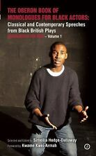 The Oberon Book of Monologues for Black Actors: Men: Classical and Contemporary