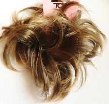 Cabello scrunchie for Bollo O Cola De Caballo Marrón Claro hair piece Bollo scrunchie