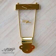 CORDIER TRAPEZE TAILPIECE GIBSON 60's ES-330/335 ES-125TDC GOLD E-E 4,76cm