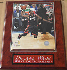 DWAYNE WADE MIAMI HEAT FRAMED 8 X 10 PHOTO WALL PLAQUE-SIGN-MAN CAVE ART-POSTER