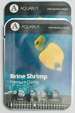 Brine Shrimp Eggs pre-measured for 500mL of water -2 packs - Live fish food