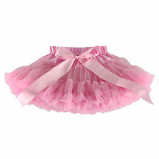 Girls Kids Dress Fluffy Tutu Skirt Princess Party Petticoat Ballet Pettiskirt AA
