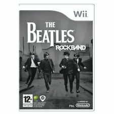 Gioco wii the beatles rockband rock band