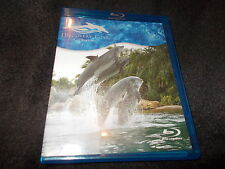 LN Blu Ray Disc DVD Discovery Cove ORLANDO Sea World 2014 Dolphins Animals RARE