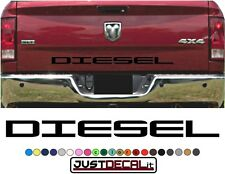 Truck Tailgate DIESEL Bed Decal Graphic Letters Fits 2500 4x4 4x2 250