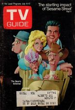 1970 TV Guide July 11 - Beverly Hillbillies; Bewitched; Sesame Street; World