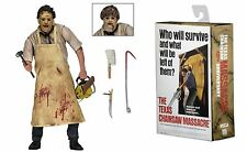 "LA MASACRE DE TEXAS LEATHERFACE ULTIMATE FIGURA 18CM NECA  ""NUEVA"" NEW"