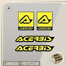 PEGATINA KIT 2 ACERBIS MOTOCROSS OFF ROAD ENDURO VINYL STICKER DECAL ADESIVI