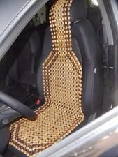 Wood Beaded Seat Cushion Cover Chair Wooden Comfort Auto Car Truck Massage Beads