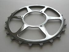 *Rare NOS Vintage 1950s Williams 24T inch pitch/skip tooth track/pista chainring
