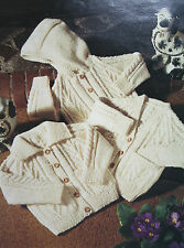Baby's/Toddlers Cardigans Knitting Pattern
