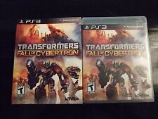 Replacement Case (NO GAME) TRANSFORMERS FALL OF CYBERTRON PLAYSTATION 3 PS3