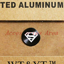 Metal Home Button superman logo Sticker for Apple iPod Touch 6 5 4 3 2 /blk