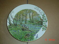 Royal Worcester Franklin Ltd Edition Collectors Plate THE WOODLANDS IN APRIL