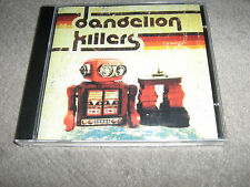 RARE  BRAND NEW SEALED DANDELION KILLERS CD 15 TRACKS  ROBOT COVER FREE UK PP